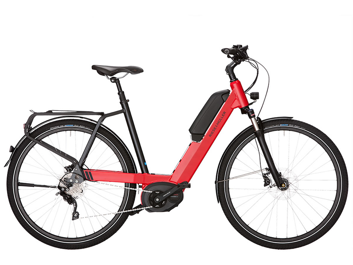 Riese Müller NEVO Touring rouge racing 500Wh