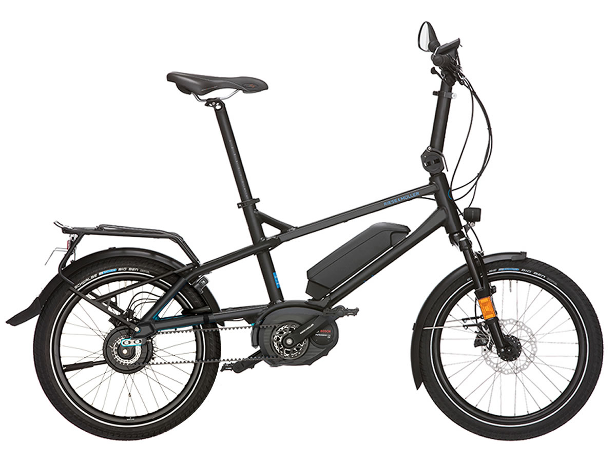 Riese Müller TINKER City Nuvinci noir 400Wh