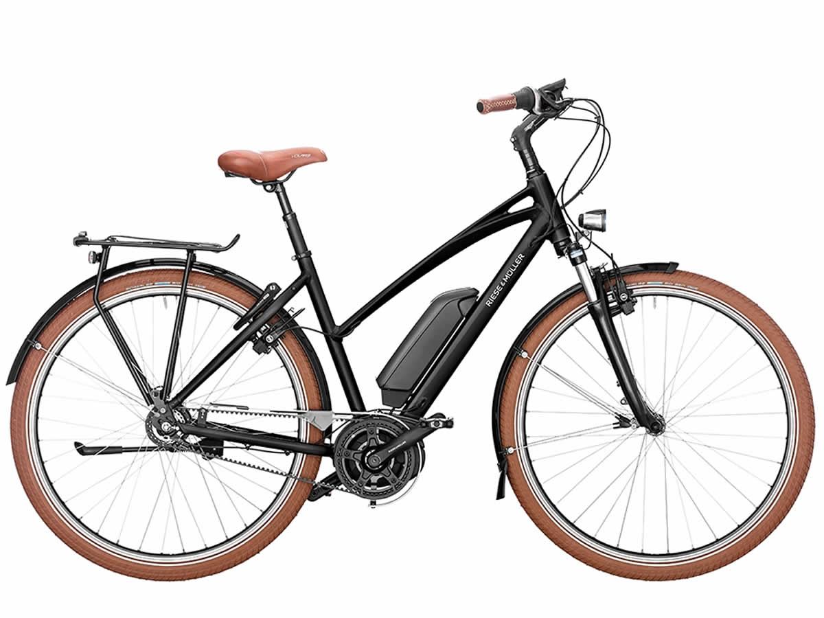 Riese Müller CRUISER Mixte Urban Nexus 8 black 500 Wh