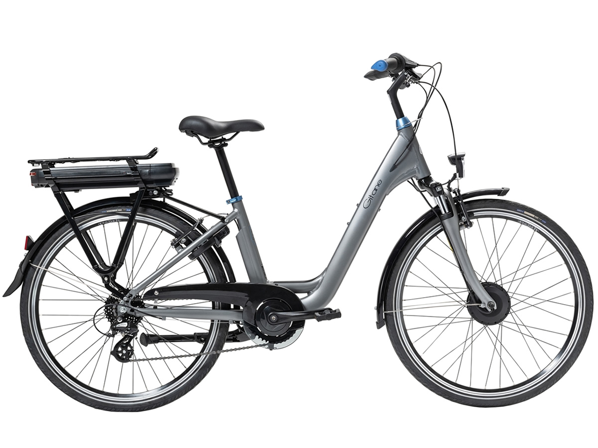 Gitane ORGAN'E-Bike Lady 28 Gris 300Wh 2021