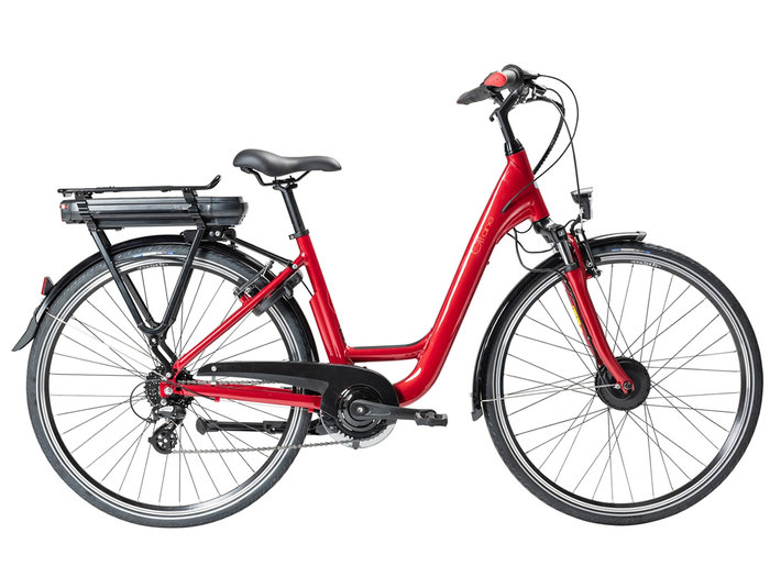 Gitane ORGAN'E-Bike Lady 28 Rouge Rubis 300Wh 2021