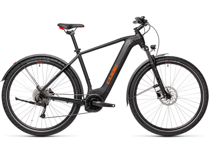 Cube Nature Hybrid ONE 500 Allroad black´n´red 2021 T.62 cm / XL