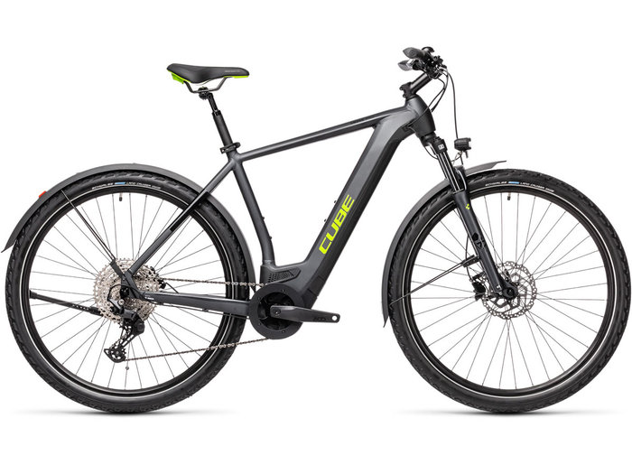 Cube Cross Hybrid Pro 500 Allroad iridium´n´green 2021 T.62 cm / XL