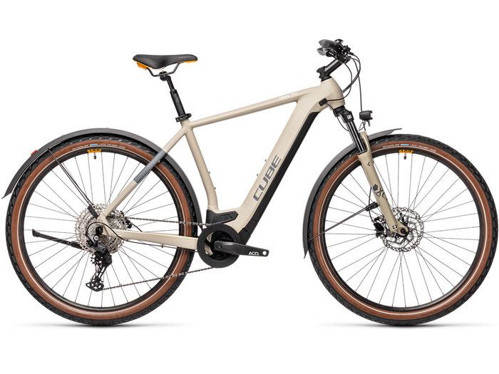 CUBE Cross Hybrid Pro 500 Allroad desert´n´orange 2021