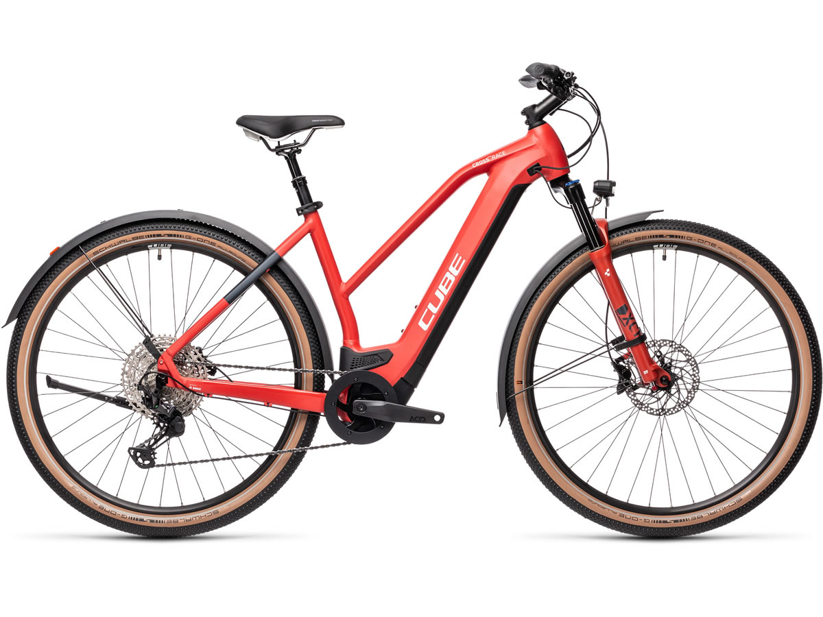 Cube Cross Hybrid Race 625 Allroad red´n´grey 2021 T.Trapeze 54 cm / M