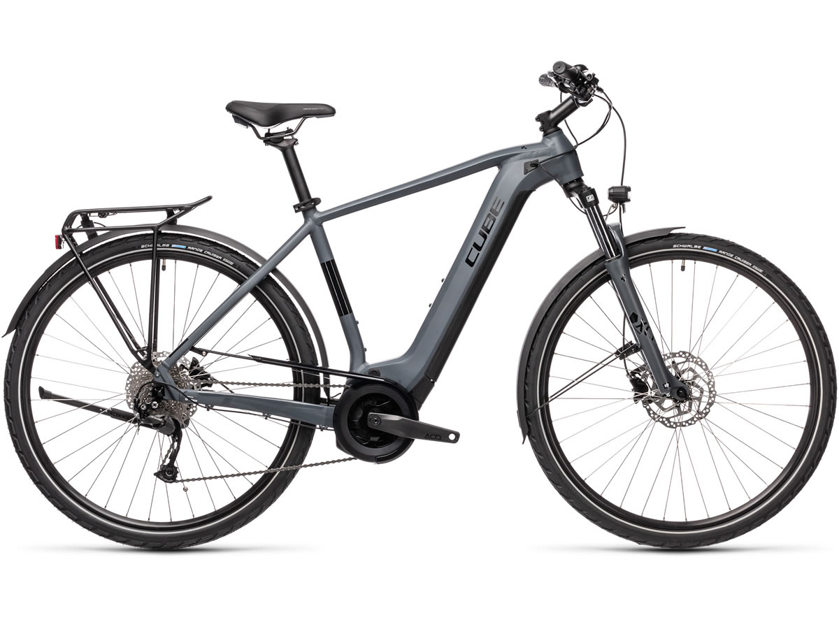 Cube Touring Hybrid ONE 400 grey´n´black 2021 T.62 cm / XL