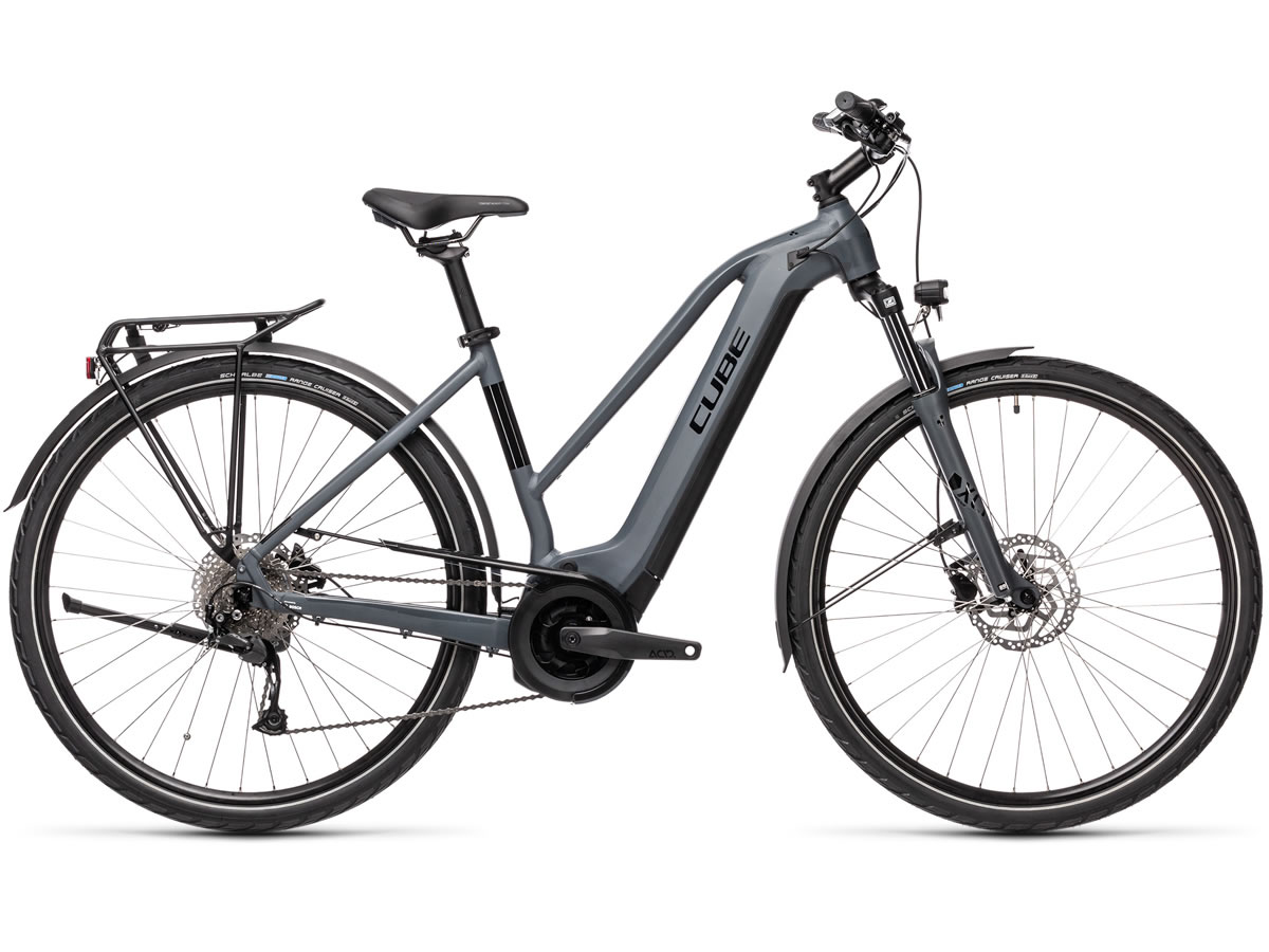 Cube Touring Hybrid ONE 400 grey´n´black 2021 T.Trapeze 54 cm / M