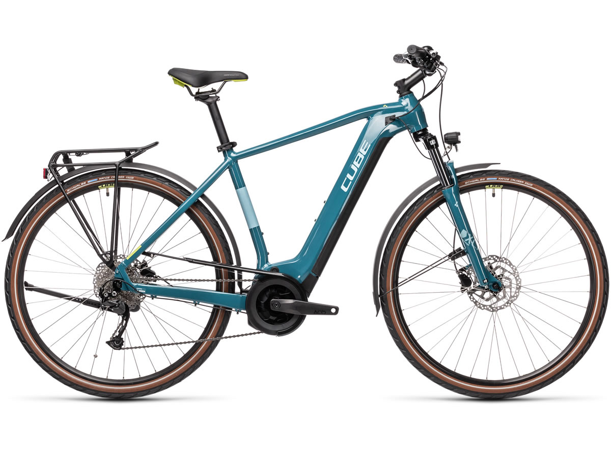 Cube Touring Hybrid ONE 400 blue´n´green 2021 T.62 cm / XL