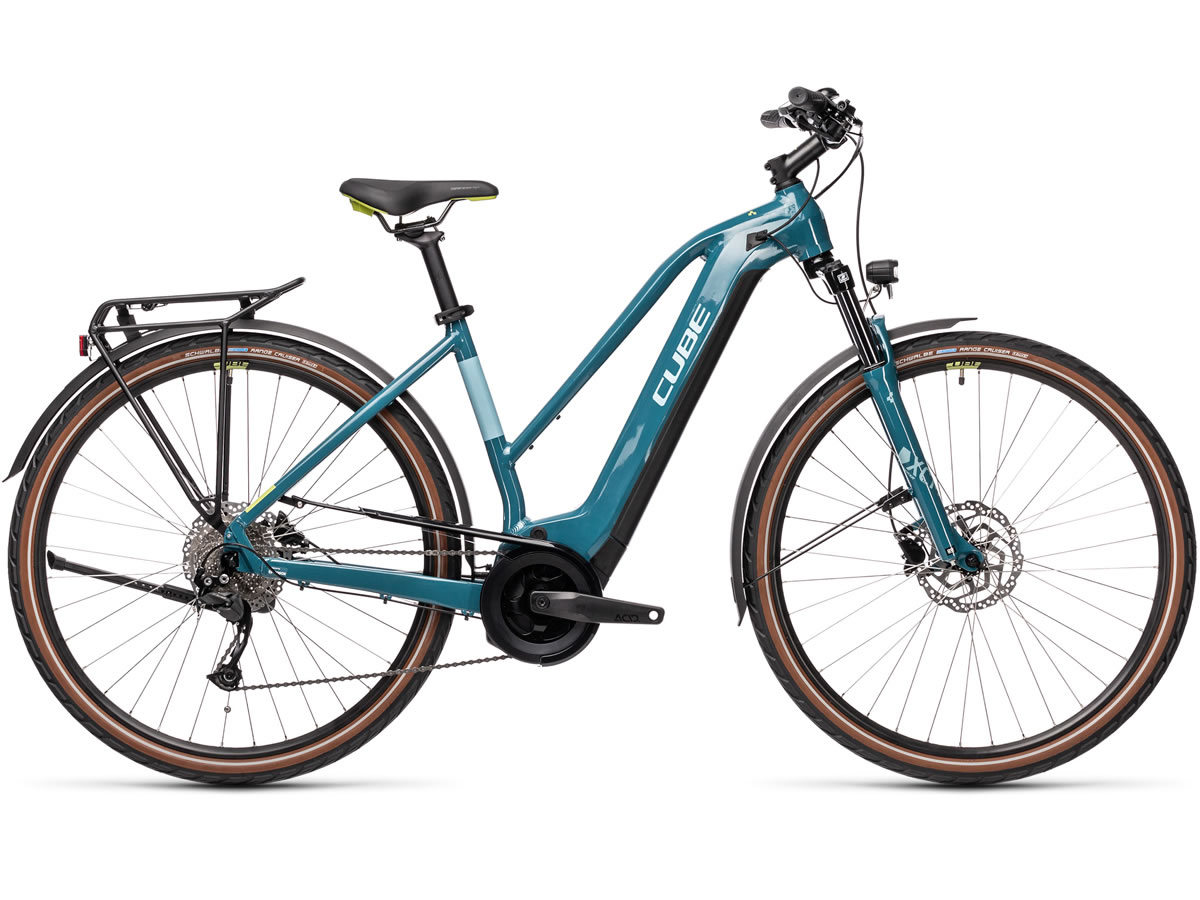 Cube Touring Hybrid ONE 625 blue´n´green 2021 T.Trapeze 54 cm / M
