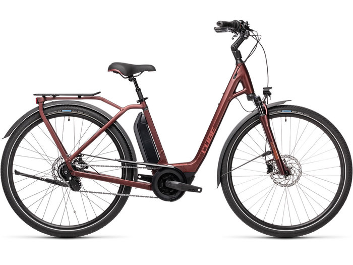 Cube Town Hybrid Pro 500 red´n´red 2021 T.Easy Entry 62 cm / XL