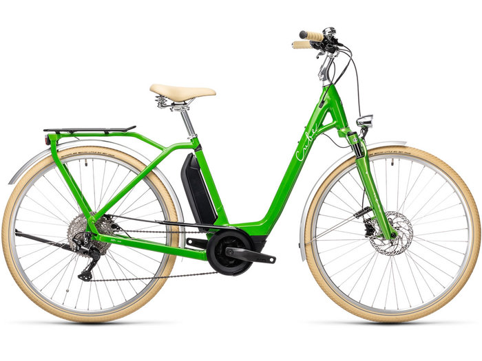 Cube Ella Ride Hybrid 500 applegreen´n´white 2021 T.Easy Entry 46 cm / XS