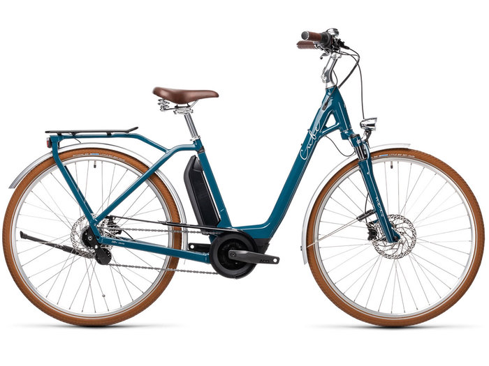Cube Ella Cruise Hybrid 500 petrol´n´grey 2021 T.Easy Entry 58 cm / L