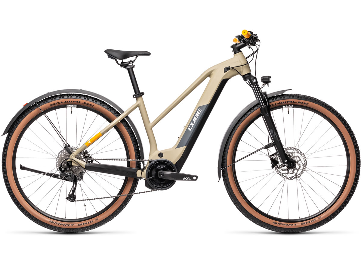 Cube Reaction Hybrid Performance 400 Allroad desert´n´orange 2021 T.Trapeze 19
