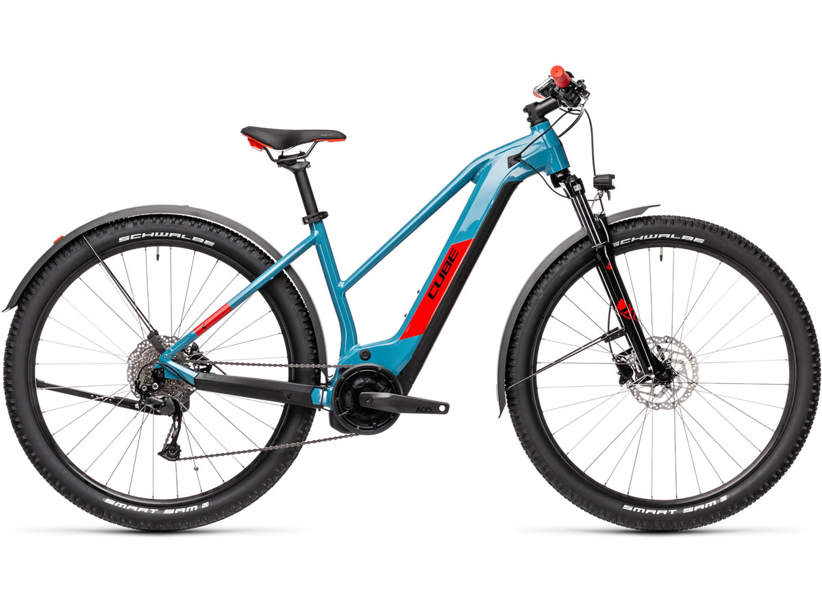 Cube Reaction Hybrid Performance 400 Allroad blue´n´red 2021 T.Trapeze 19