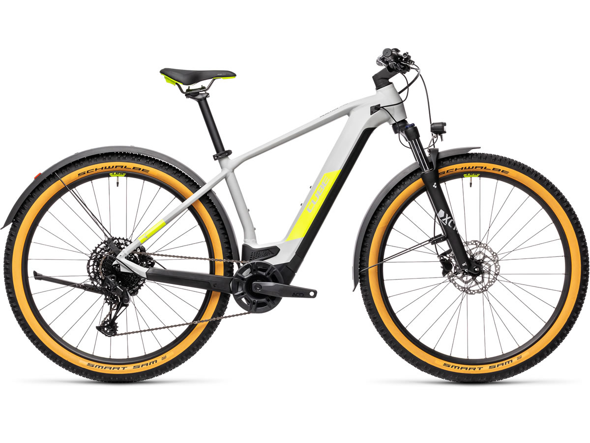 Cube Reaction Hybrid Pro 625 29 Allroad grey´n´yellow 2021 T.23