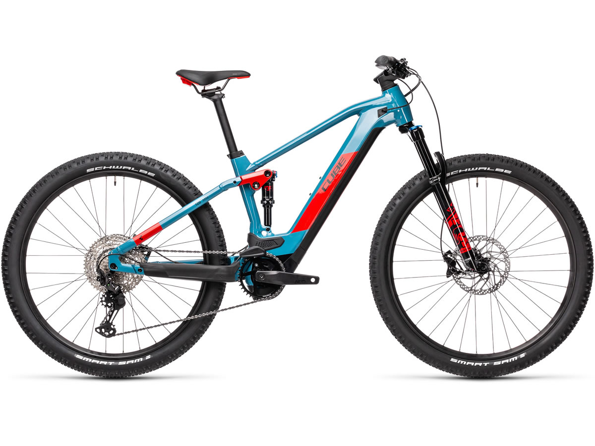 Cube Stereo Hybrid 120 Race 625 blue´n´red 2021 T.22