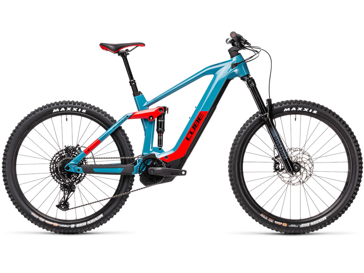 Cube Stereo Hybrid 160 HPC Race 625 27.5 blue´n´red 2021 T.22
