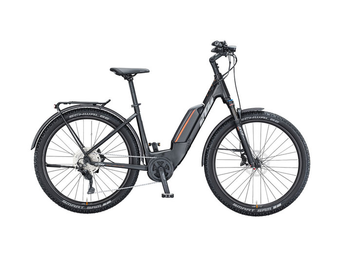 KTM MACINA AERA P272 LFC US 56cm black matt (grey+orange) 2021