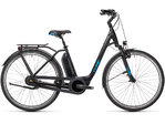 Cube Town RT Hybrid Pro 500 black´n´blue 2021 T.Easy Entry 58 cm / L