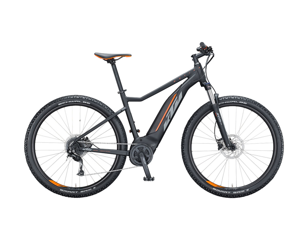 KTM MACINA RIDE 291 XL / 53cm black matt (grey+orange) 2021
