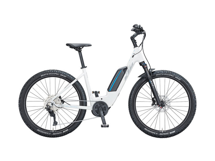 KTM MACINA AERA P272 US 56cm metallic white (grey+blue) 2021
