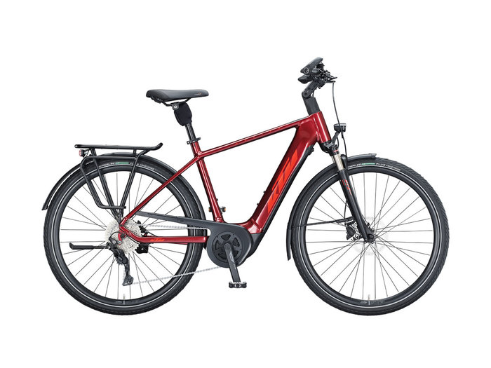 KTM MACINA TOUR P610 H 60cm dark red (fire orange+black) 2021