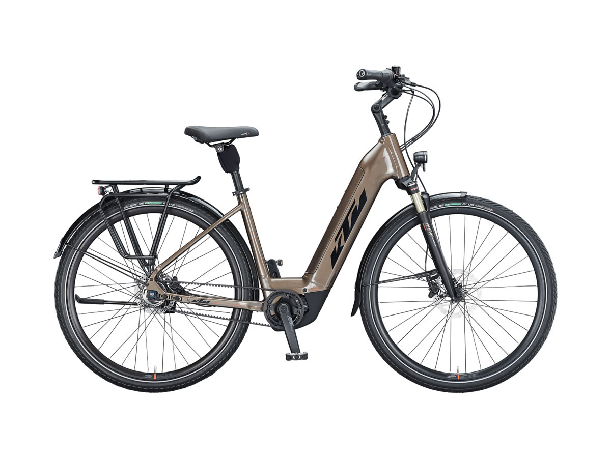 KTM MACINA CITY 610 belt US 56cm oak (black+orange) 2021