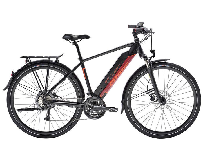 GITANE E-VERSO équipé noir orange 500Wh Série Black Friday M