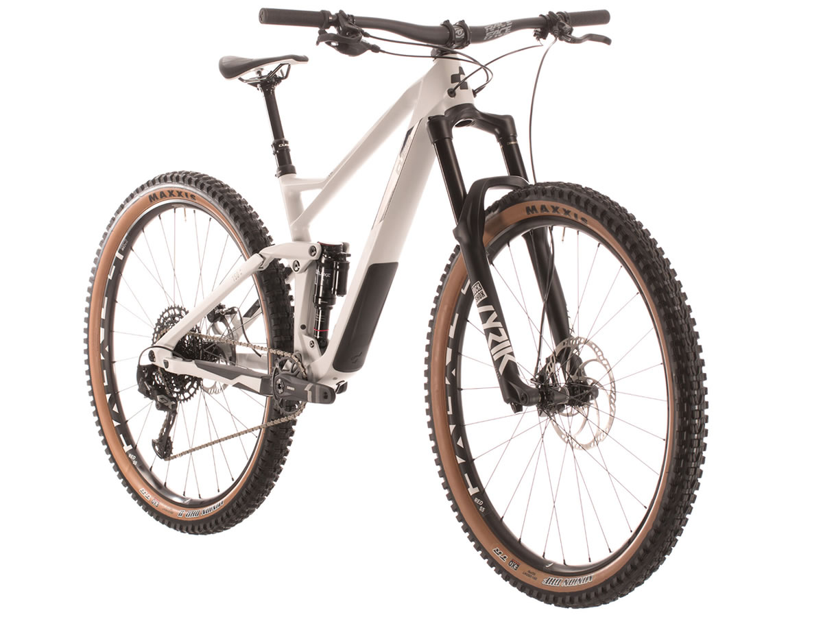 CUBE STEREO 150 C:62 Race 29 grey´n´carbon 2020 L