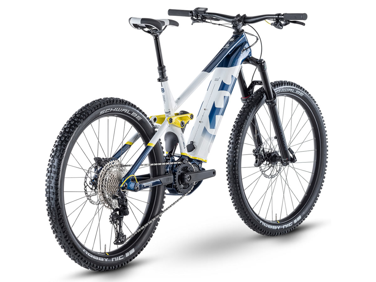 HUSQVARNA Mountain Cross 5 T blue/white/yellow 2021 M